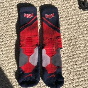 Nike dri fit socks ; youth medium